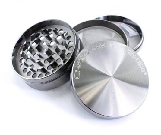 three chamber weed grinder