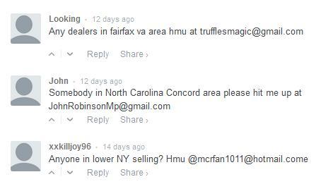 weed dealer online comments
